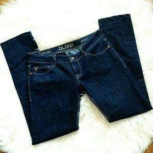 a474f665caae7 DL1961 Jeans   Jessica Skinny Jean Dark Wash Twilight 27   Poshmark